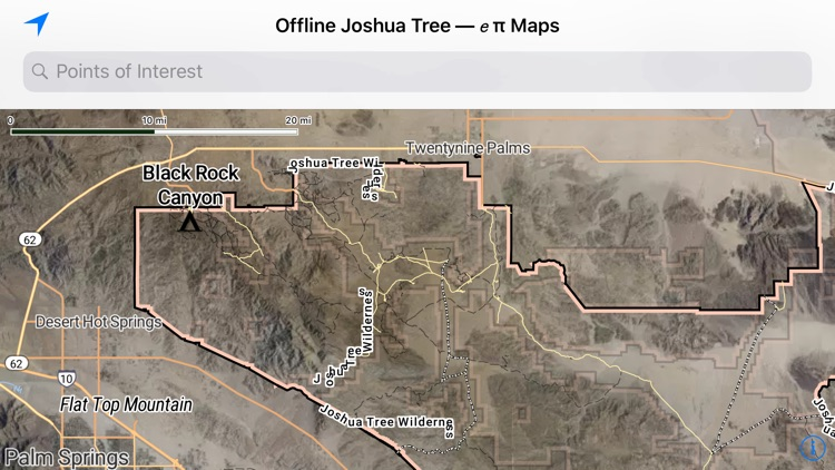 Offline Joshua Tree Map screenshot-3