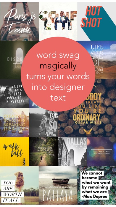 Word Swag - Cool Fonts screenshot 1