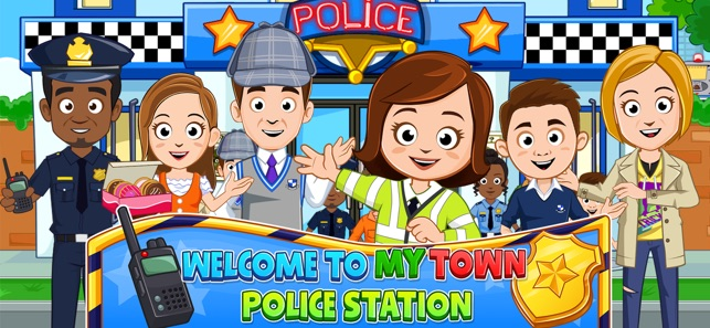 My Town : Police Screenshot