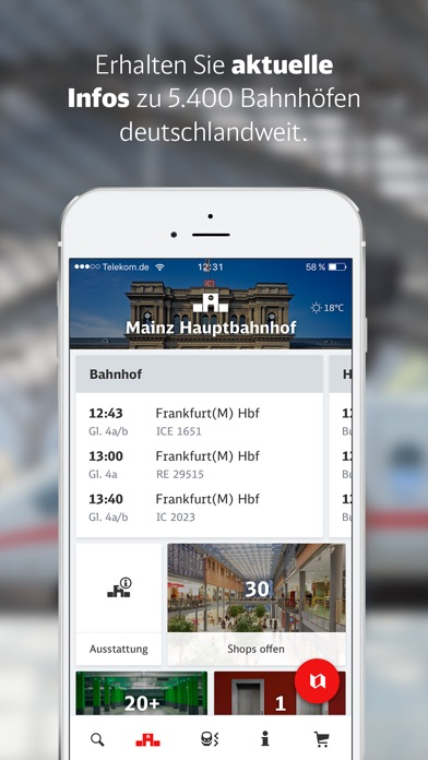 DB Bahnhof live for Windows