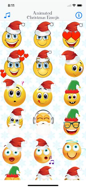 \u200eAnimated Xmas Emoji \u0026 Stickers