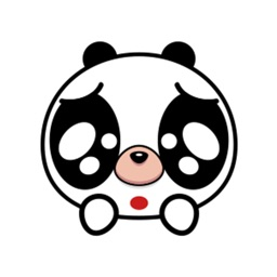 Lovely panda - Fx Sticker