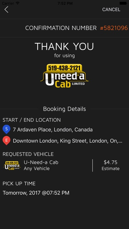 U-Need-A Cab screenshot-4