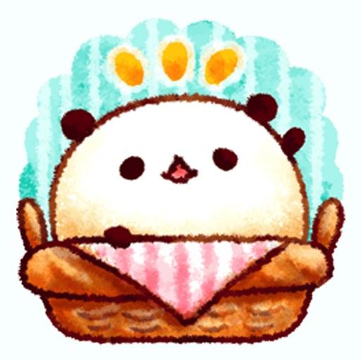 White Bread of Panda Stickers