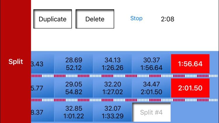 Swim Stopwatch screenshot-3