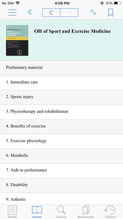 OH of Sport & Exercise Med, 2e