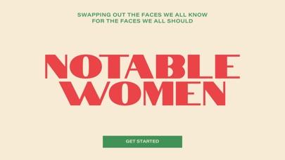 Notable Women AR screenshot 1