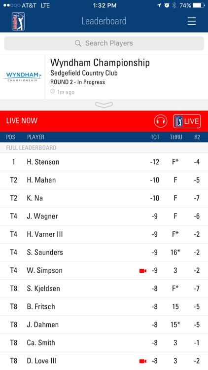 PGA TOUR Mobile screenshot-0