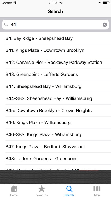 NYC Bus Tracker & Map screenshot-3