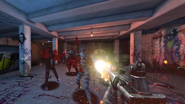 VR Zombie Warfare screenshot-2