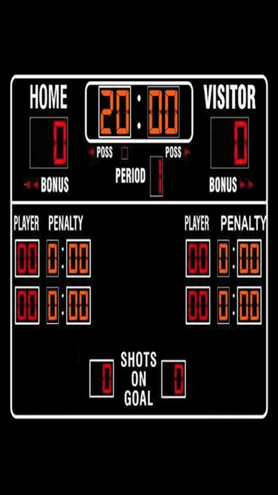 Screenshot for Hockey Score Keeper Sounds! in Canada App Store