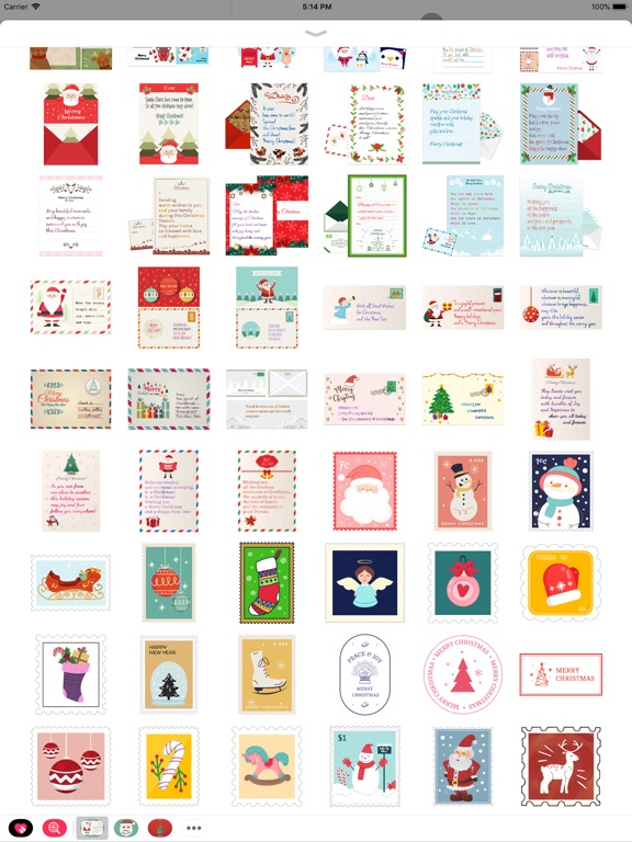 Christmas Letter with Message screenshot 8