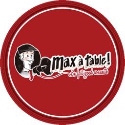 Max à table