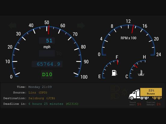 Dashboard for Truck Simulatorのおすすめ画像3