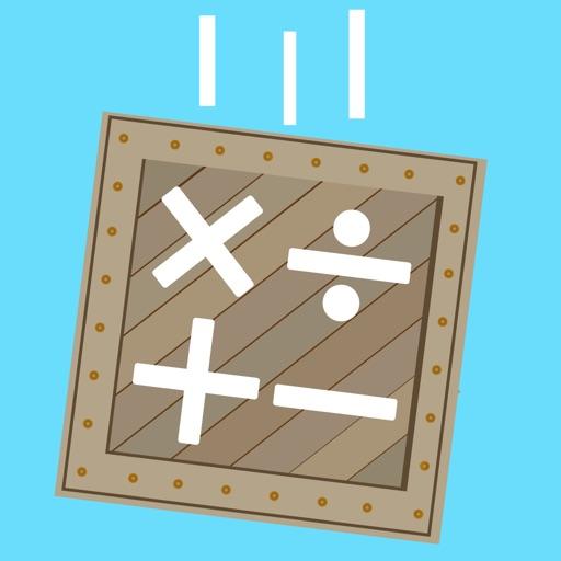 Box Drop Math Addition Game
