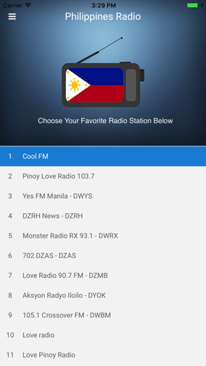 Philippines Radio Station Fm On The App Store