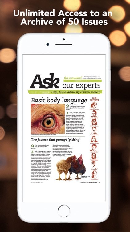 Your Chickens Magazine screenshot-3