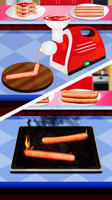 Hot Dog Maker 2017 – Fast Food Cooking Games Delux screenshot two
