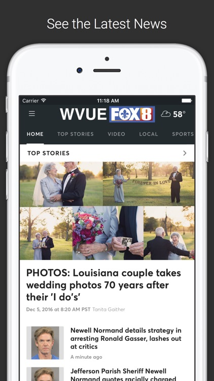 FOX 8 WVUE Mobile screenshot-0