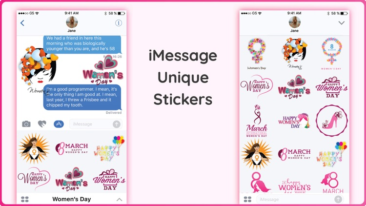 Amazing Women's Day Stickers