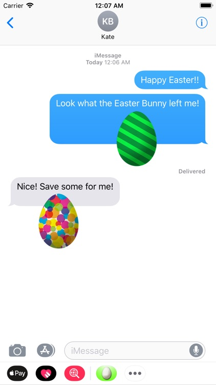 Easter Eggs Fun Stickers