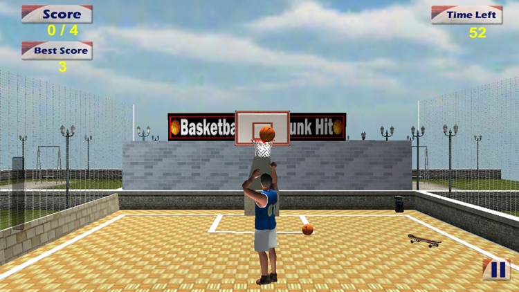 Basketball Real Dunk Hit