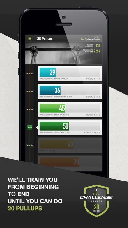 20 Pull Ups Trainer Challenge screenshot-4