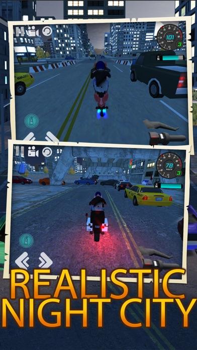 都市交通オートバイ運転シミュレータのおすすめ画像1