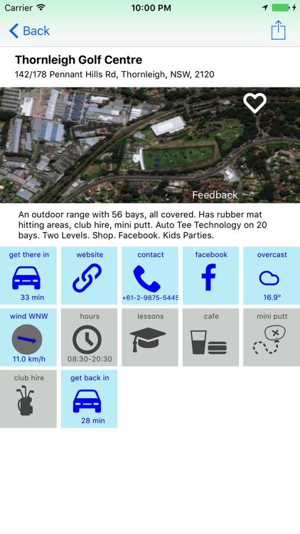 RangeNearMe golf practice driving range directory screenshot-3
