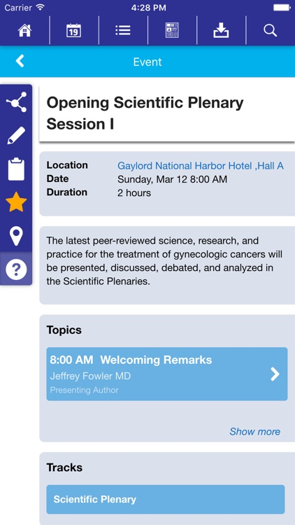 SGO Meetings by Society of Gynecologic Oncology