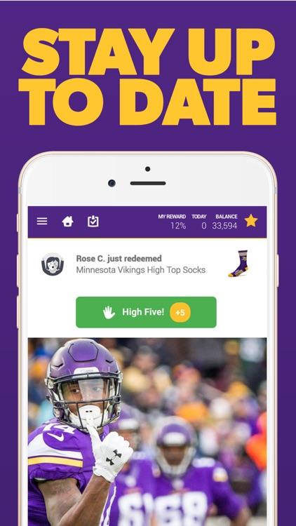 Minnesota Football Louder Rewards screenshot-3