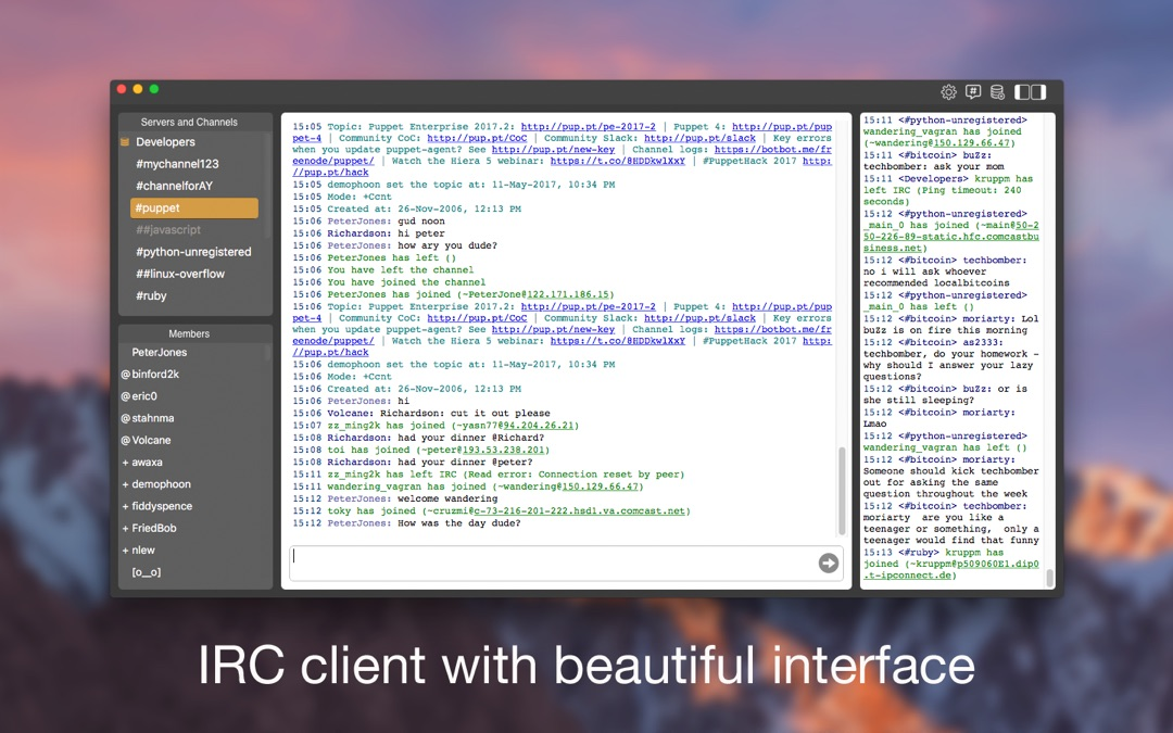 3 Minutes to Hack New IRC Live Chat Client - Unlimited