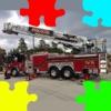 消防車 フォト ジグソーパズル