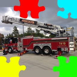 Fire Truck Photo Jigsaw Puzzle