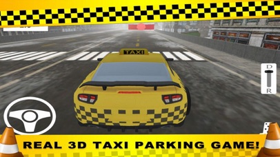 Parking CITY TAXI - Driver Sim screenshot 1