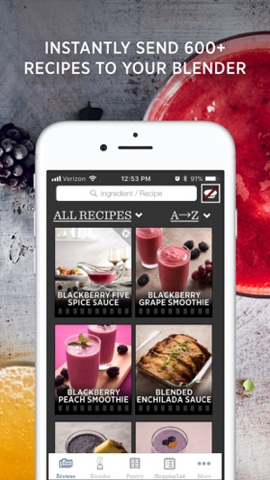 Vitamix perfect blend on the app store screenshots forumfinder Choice Image