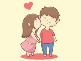 Te Amo Couple Stickers