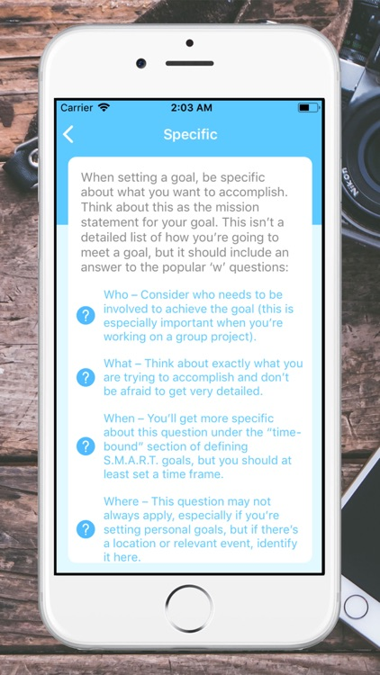 SMART Goals screenshot-3