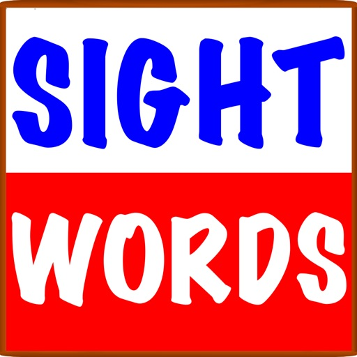 Sight Words Flash Cards ! iOS App