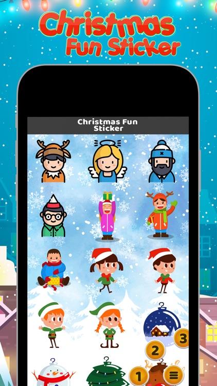 Christmas Fun Sticker screenshot-3