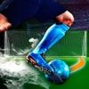 本当のフリーキックの3Dサッカーゲーム