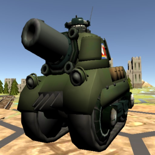 Tanks at Dieppe free software for iPhone, iPod and iPad