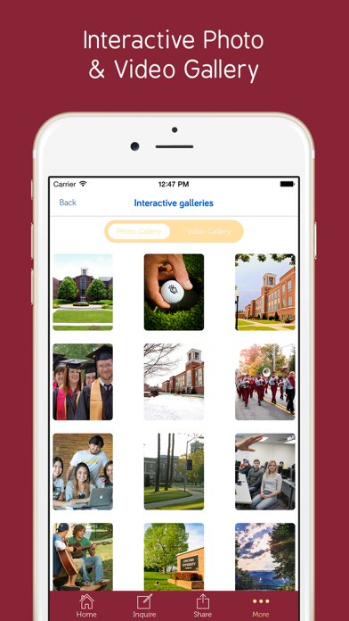 Concord University - Prospective Students App screenshot four