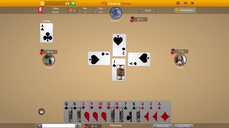 Tarneeb Syrian screenshot-3