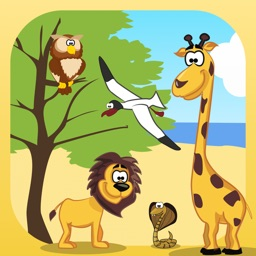 Smarty. Animals. Learning by playing.