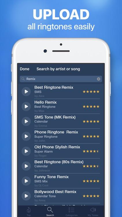 Ringtones for iPhone & Maker screenshot-3