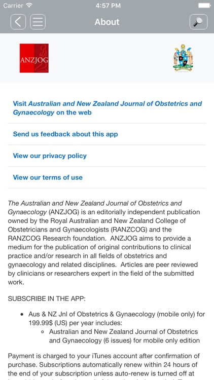 Aus & NZ Jnl of OBGYN
