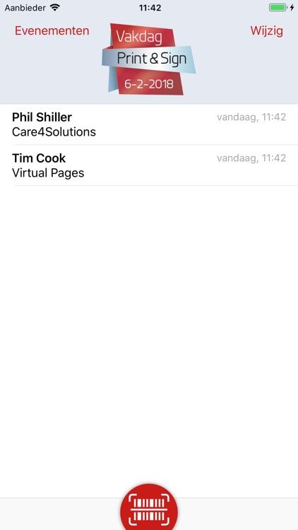 deRegistratiebalie Exhibitors screenshot-4