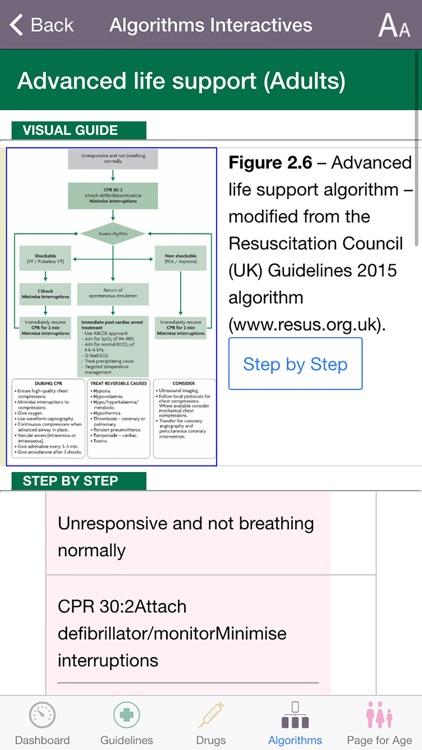 iCPG: the JRCALC Guidelines screenshot-3