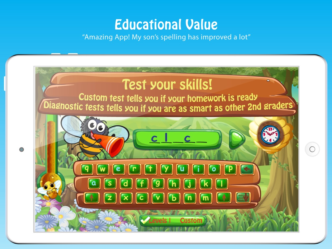 Fun Kids Spelling Word Games - Online Game Hack and Cheat